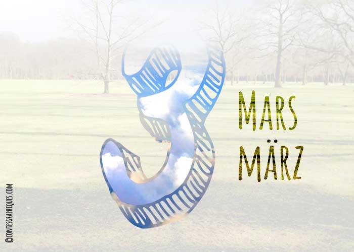 Mars   März